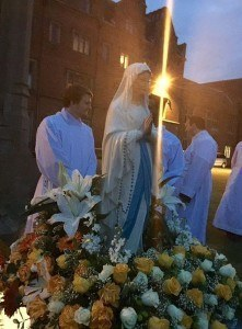 Our lady procession
